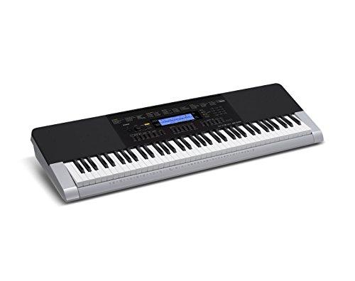 Casio-WK-240-Teclado-MIDI-Botones-Corriente-alterna-Batera-DC-LCD-USB