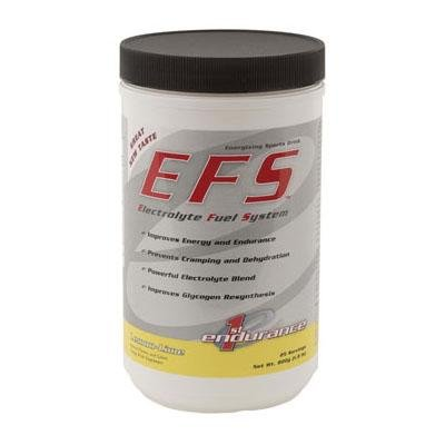 First Endurance Electrolyte Fuel System EFS Drink - 750g Canister (Lemon Lime)