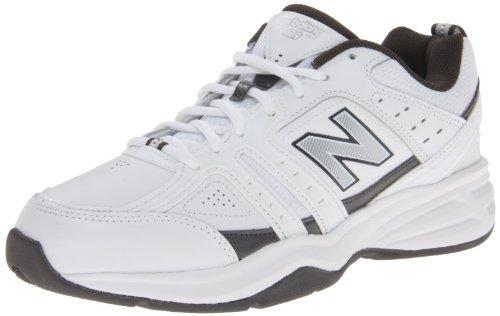 New Balance Men'S Mx409 Cross-Training Shoe,White/Grey,11 D Us