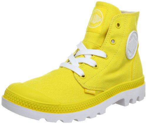 Palladium Unisex - Adult BLANC HI~YELLOW/WHITE~M Ankle Boots Yellow Gelb (YELLOW/WHITE) Size: 42