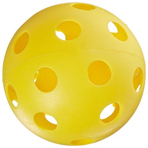 "360 Athletics Whiffle Ball, 12"", Yellow - 1"