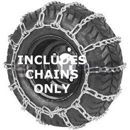 Best Prices! Husqvarna 954050203 Snow Thrower Tire Chains Pair, 20-Inch by 8-Inch by 8-Inch
