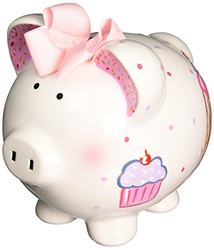 Child to Cherish Piggy Bank, Cupcake - 1