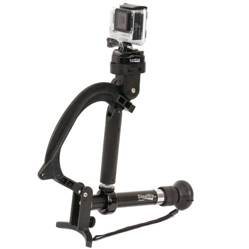 Varizoom StealthyGo-BLK Multimode Support for GoPro and Small Cameras (Black)