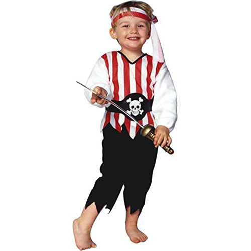Child's Toddler Pirate Halloween Costume (1-2T)