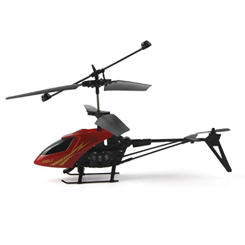 Keepfit RC 901 2CH Mini 2 Channel R/C Helicopter Radio Remote Control Aircraft with Gyro- Red (Missile Balloons For Your Car compare prices)
