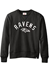 NFL Men's '47 Brand Cross-Check Crew Neck Pullover