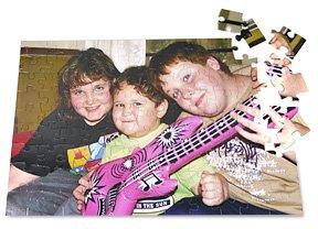 99 piece Kids Personalized Photo Jigsaw Puzzle, 12x18in
