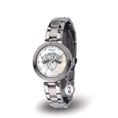 Sparo RI-WTCHA81001 New York Knicks Charm Ladies Watch by Sparo