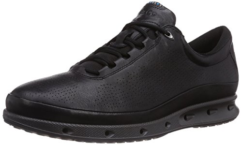 Ecco ECCOO2 - zapatillas de running de cuero hombre, Negro (BLACK51052), 43