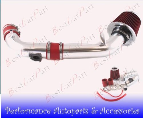 03 04 05 06 07 08 Mazda 6 L4 Cold Air Intake Red (Included Air Filter) #Cai-mz003 Red (Mazda Cold Air Intake compare prices)