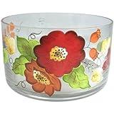 Artland Laurie Gates Luxe Les Belles Fleurs Cylinder Salad Bowl