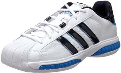 adidas Men's Superstar 3G Speed Basketball Shoe,Running White/Dark Navy/Fresh Blue,6.5 M US
