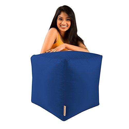 Bar-B-Cube-Sitzsack-Hocker-BLAU-Innen-Auenbereich-wasserdicht-Sitzscke
