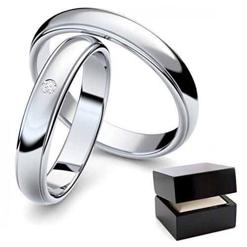 ... Silber Eheringe Paarpreis günstig Eheringe Silber Zirkonia Eheringe