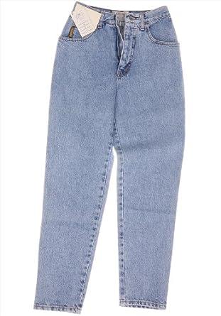 armani vintage high waist damen logo karotten jeans. Black Bedroom Furniture Sets. Home Design Ideas
