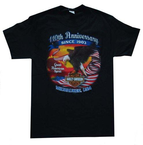 Harley-Davidson Men's American Eagle Limited Editon Black t-Shirt EAGLE