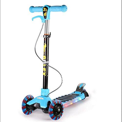 ZFneg-Enfants-pliant-flash-Pedal-Scooter