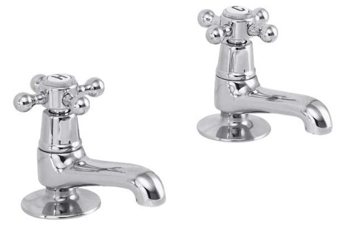 Chrome Victorian Basin Taps