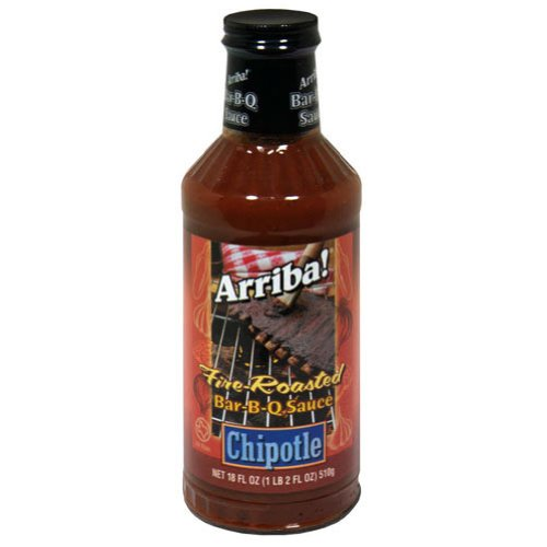 Arriba, Sauce Bbq Chptle, 18 OZ (Pack of 6)