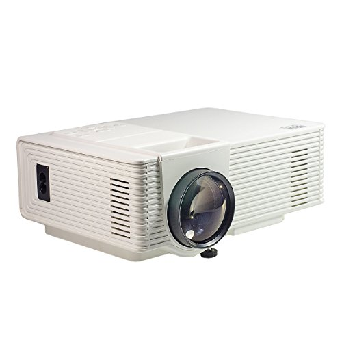 Video projector b2cool 1600 lumens hd lcd mini multimedia for Beamer portable