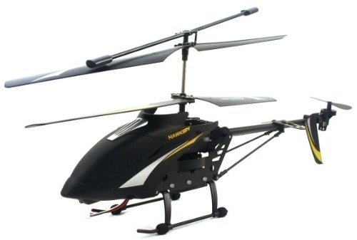 Big Size SPY HAWK 3.5CH Metal RC helicopter RTF + Gyro and SPY Camera + FREE 1GB SD memory card - Large Size 12