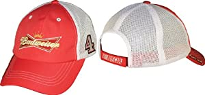 NASCAR Kevin Harvick #4 Budweiser Standard Mesh Cap by Checkered Flag