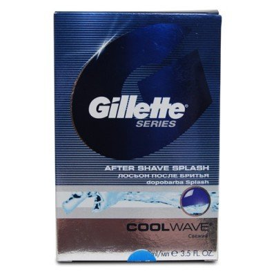 Gillette Series Cool Wave After Shave Splash