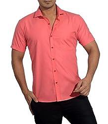 Baaamboos Casual Half Sleeve Rich Cotton Shirt (40)