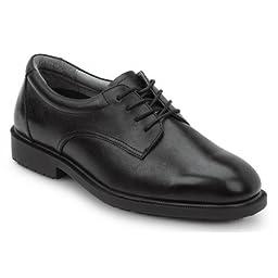 SRMax Mens Arlington Slip Resistant Dress Shoe (11.5 EW, Black)