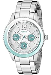 Fossil Women's ES3774 Stella Analog Display Analog Quartz Silver Watch