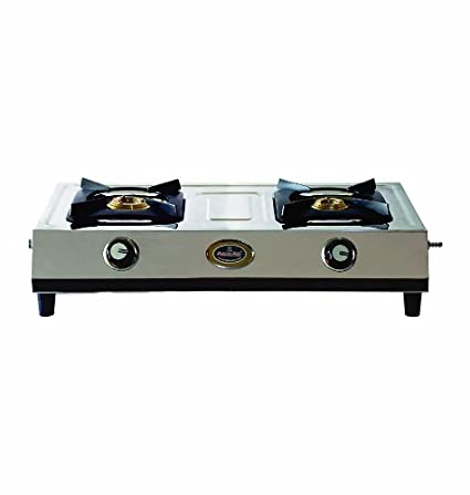 Stainless Steel Gas Cooktop With Heavy Body (2 Burner)