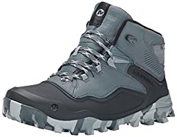 Merrell Men\'s Fraxion Shell 6 Winter Hiking Boot, Monument, 10 M US