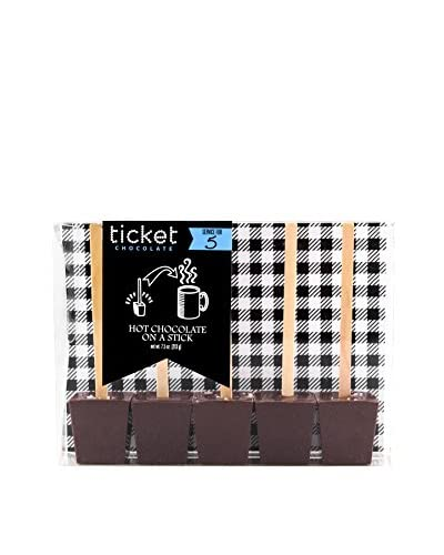 Ticket Chocolate Milk Chocolate Lover's Hot Chocolate Tasting Pack
