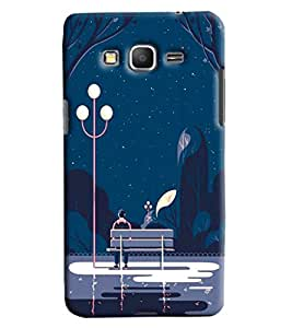 Blue Throat Night Park Effect Printed Designer Back Cover/ Case For Samsung Galaxy Grand Prime