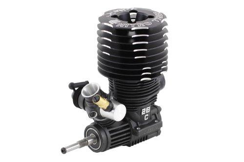 XciteRC-72103000-RC-Auto-Motor-Nitro-Tiger-28-ohne-Seilzugstarter-48-ccm-schwarz