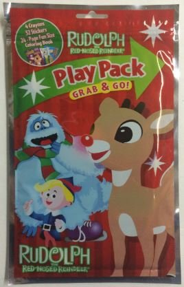 Rudolph The Red Nosed Reindeer Play Pack Grab & Go - Varied Images