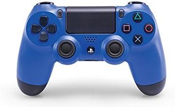 Sony - Mando DualShock 4, Color Azul (PS4) [Importado]