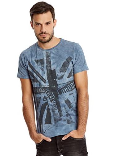 Pepe Jeans London Camiseta Manga Corta Refine Ip Azul Índigo