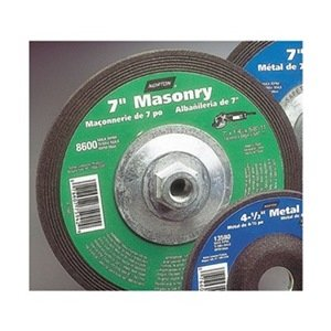 NORTON Masonry Type 27 Depressed Center Wheel - Diameter: 7 THICKNESS: 1/4 Hole Size: 5/8-11 [Pack of 10]