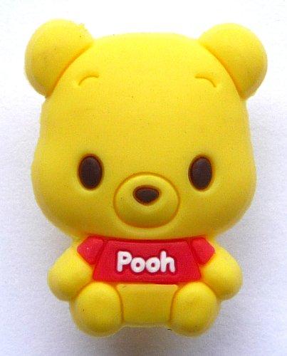 Cutie Pooh Bear Disney Jibbitz Crocs Hole Bracelet
