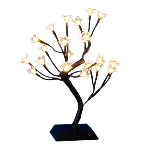 Decra Lite Ltd 15 Inch Cherry Blossom Tree With Led Warm White Lights