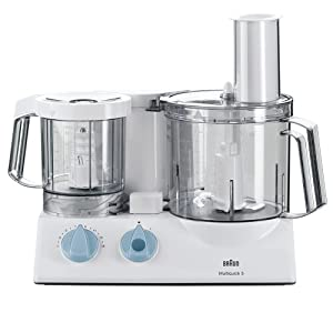 Braun k700 multiquick 5 food processor colore bianco for Robot cuisine braun