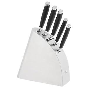 James Martin Stainless Steel Knife Block Set
