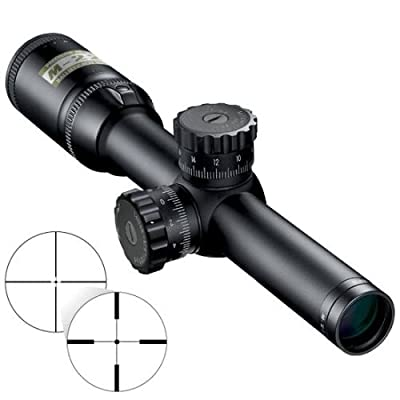 Nikon M-223 1-4x20mm Riflescope, Matte Point Blank Reticle w/ Interchangeable Turret by Nikon