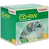 VERBATIM CORPORATION 94790 CD-rw 74MIN 650MB 2X-4X Datali