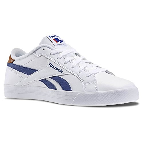reebok-royal-complete-low-baskets-de-tennis-homme-multicolore-blanco-azul-marron-white-midnight-blue