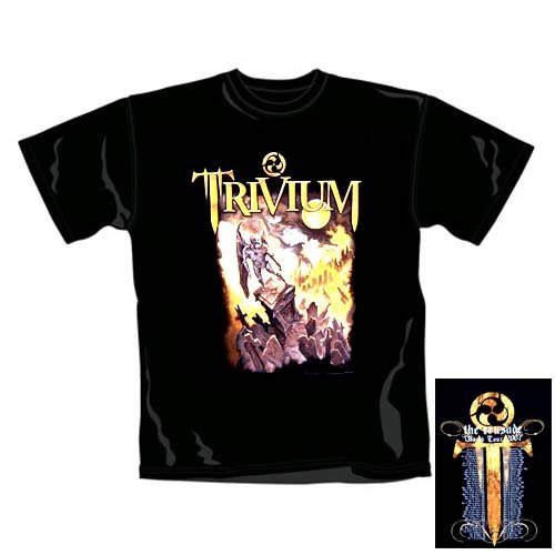 Trivium - T-Shirt Seagrave 06 Tour (in XL)