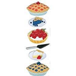 Martha Stewart Crafts Baking Pie Dimensional Stickers