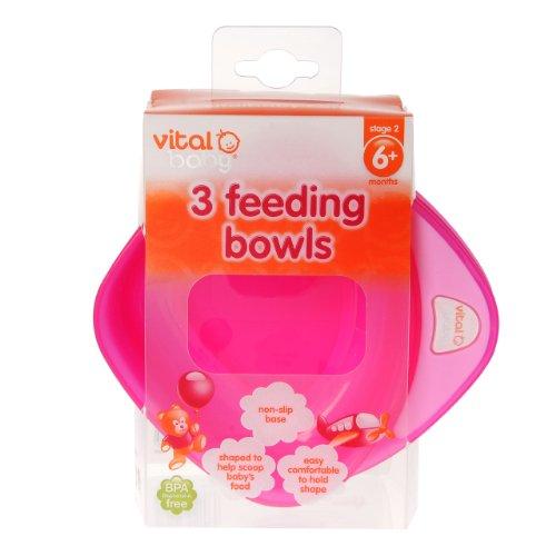 Imagen 3 de Vital Baby - Boles infantiles (3 unidades), color rosa